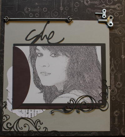 scrapbook page she 2