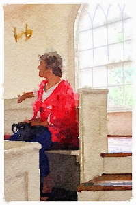Mommy/Grandma Painted in Waterlogue